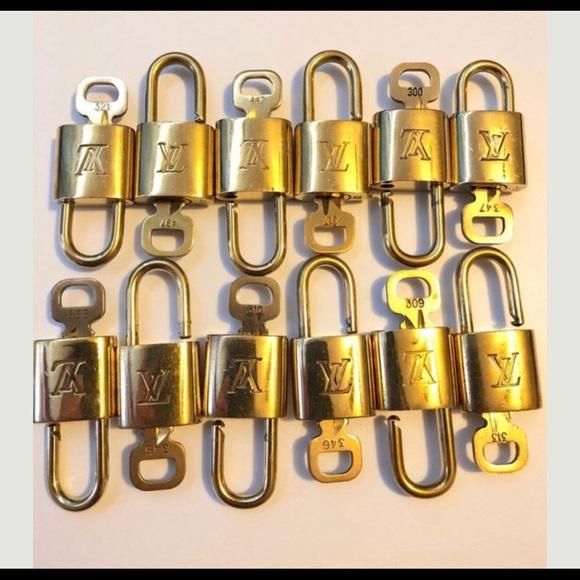 Louis Vuitton Accessories - 2 Louis Vuitton lock and key sets